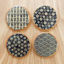 Homemade Coasters Asian Teacup Coasters Thirsty For Tea