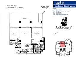 Ritz Carlton Toronto Floor Plans by Bayfront U0026 City View Condo Sales Coconut Grove