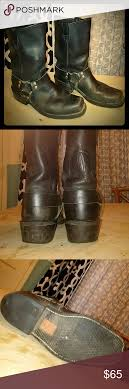 womens moto boots size 12 harley davidson motorcycle boots mens size 10d or womens size 12