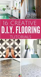 diy home decor ideas on a budget 16 gorgeous but cheap flooring ideas designer trapped in a