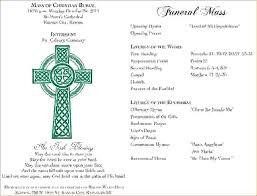 Funeral Program Maker 9 Funeral Mass Programagenda Template Sample Agenda Template Sample