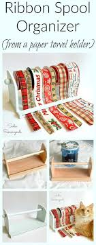 spools of ribbon diy gift wrapping ideas spools of craft and gift wrap ribbon can