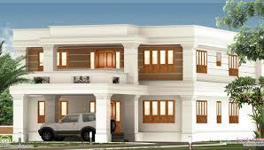 roof bedroom flat roof villa house design plans beautiful modern