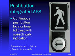 Mp3 Player For Blind Accessible Pedestrian Signal Features New Possibilities For Access