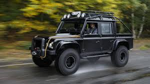 new land rover defender bond special topgear com drives the 007 spectre defender top gear
