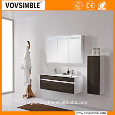 eco friendly waterproof customized mdf bathroom vanity customized