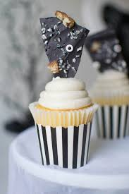 halloween themed cake toppers ghostly halloween party black twine