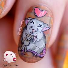 piggieluv streetrat aramis nail art