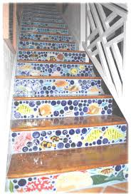 Tiles For Stairs Design Decorative Ceramic Tile Hand Made Tiles For Custom Fireplace