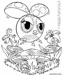 zoobles coloring pages coloring pages to download and print