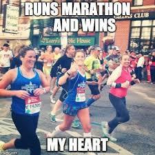 Photogenic Runner Meme - struggling with motivation post marathon a sweat life