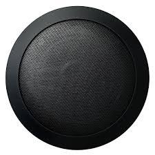 Outdoor Home Audio Systems Mr Steam Music Therapy 60 Watt 2 Way Indoor Outdoor Round Speaker