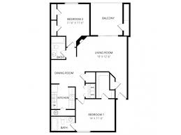 two bedroom two bath floor plans 2 bed 2 bath apartment in colorado springs co windtree apartment