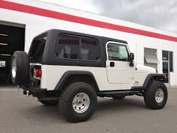jeep wrangler hardtop from rally tops custom fiberglass