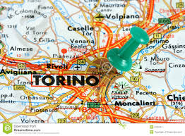 Italy On A Map by Turin On The Map Stock Image Image 3781441