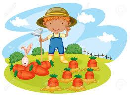 garden boy clipart collection
