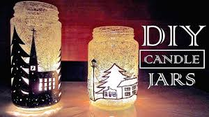 Decoration Christmas Candle by Christmas In A Jar Diy Christmas Decorations U0026 Gifts Youtube