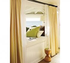 simple and trendy grey window curtain treatment ideas with bamboo