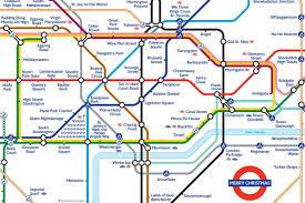 Chelsea Map Londoner Creates Festive Tube Map To Help Spread Christmas Cheer