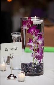 simple center pieces simple and inexpensive orchid wedding centerpieces budget brides