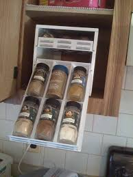 Kitchen Cabinet Spice Organizers Unique Spice Racks Lots Of Clever Ways To Store Spices In Your