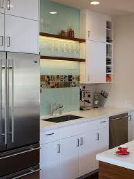 Best Kitchen Backsplash Images On Pinterest Glass Tiles - Glass kitchen backsplash