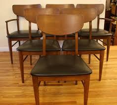 chair bernhardt modern walnut dining room set brass lantern