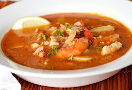 Fish Mediterranean Style Mediterranean Seafood Chowder For Birthday Dinner Mixed Greens Blog