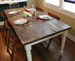 Diy Farmhouse Dining Room Table Diy Farmhouse Table Squid Birch