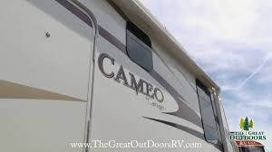 Carriage Rv Floor Plans by Used 2008 Cameo Carriage 33ckq Fifth Wheels U748 Youtube