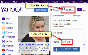 yahoo mail how to sign out of yahoo mail account
