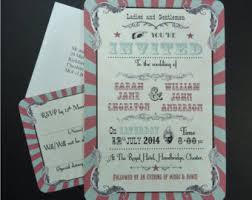 vintage wedding invites retro wedding invitation etsy