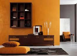Modern Interior Design Ideas Blending Brown And Orange Colors - Orange interior design ideas
