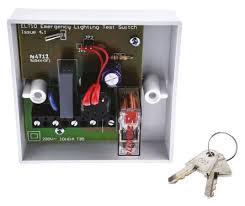 elt 10 emergency light test switch 240 v ac 1 h 10 min 3 h