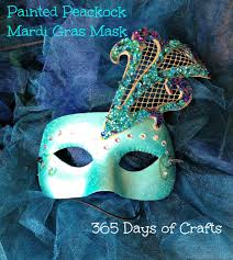 peacock mardi gras mask peacock mardi gras mask 365 days of crafts inspiration