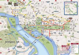 big washington dc map explore pass washington d c big tours
