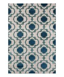 Green Trellis Rug World Rug Gallery Cream U0026 Blue Moroccan Trellis Rug Zulily