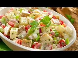 cara membuat salad sayur atau buah resep salad italian dressing youtube