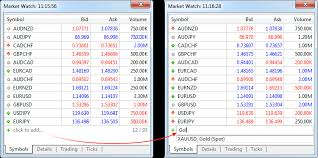 bid ask significato market trading operations metatrader 5