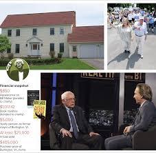 bernie sanders house in vermont caign finance 2016 bernie sanders rhetoric full of money not