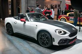 2017 abarth 124 spider first look review motor trend