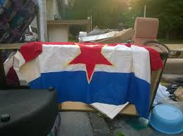 Rules Disposing American Flag Old Yugoslavian Flag Found In A Pile Of Garbage X Post From R