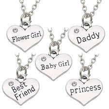 flower girl charms best friends princess baby girl flower girl charm pendant