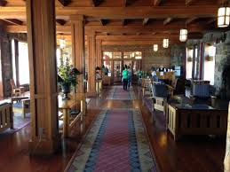 Crater Lake Lodge Dining Room Crater Lake National Park Azure Blue Waters Jaw Dropping Vistas