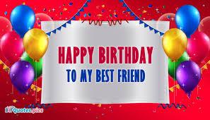 happy birthday to my best friend bffquotes pics
