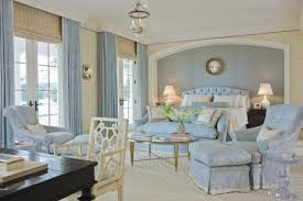 light blue room decor with classic light blue bedroom design