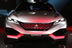 peugeot suv concept peugeot quartz hybrid concept debuts in paris with 500 hp