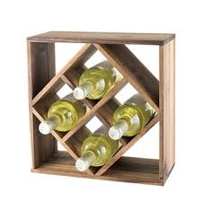 wine rack console table wayfair