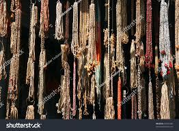 rosary shop shop rosary agra india stock photo 56424355