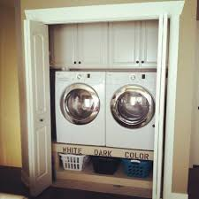 backyards laundry closet ideas save space and get organized in